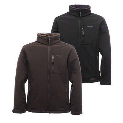 Regatta Cato II Windproof Fur-pile Backed Relaxed Fit Softshell Jacket Jacket