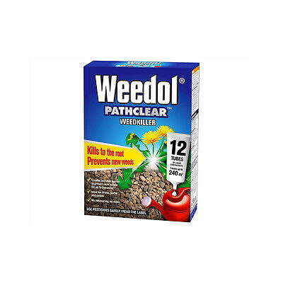 Miracle Weedol Pathclear 12 Tubes