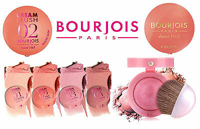 Bourjois Depuis 1863 Blusher Cream / Little Round Pot Powder New *choose Shade*