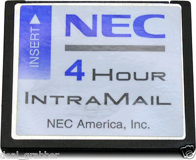 NEC DS1/ DS2000 INTRAMAIL 4PORT 4HOUR VOICE MAIL  Stock# 80064 Factory Refurbish