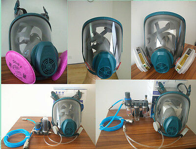 3M 6800 Similar Gas Mask variety  styles Respirator Suit Painting Spraying