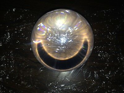 "1pcs Crystal Clear Solid Acrylic Ball / Acrylic Sphere 4"" Diameter"