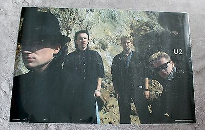 U.2. 1985 Bono Edge Adam Larry Mullen Minerva Group Poster #68054 Laminated VGEX