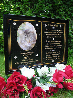 A5 Size Personalised Pet Memorial Sympathy/bereavement- Cat