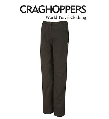 Craghoppers Basecamp Mens Warm Winter Lined Walking WaterRepelant Trousers Black