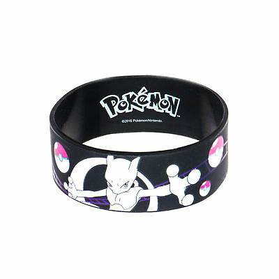 Pokemon Mewtwo Youth Silicone Bracelet