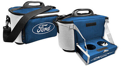 Ford Portable Cooler Bag with Pull Down Drink Tray | Lunch Box | Drink Holder