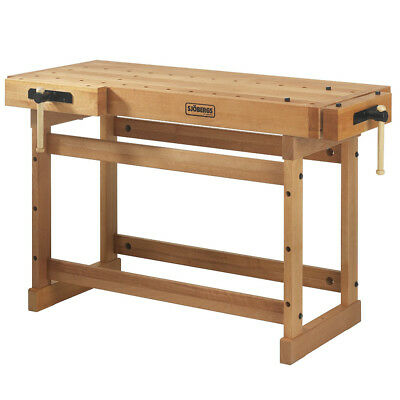 Sjobergs SJO-33280 65-Inch European Hard Birch Top Scandi Plus Workbench
