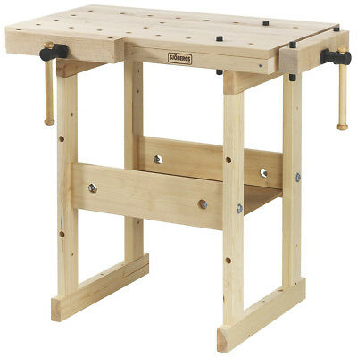 Sjobergs SJO-33283 58 x 32-Inch European Hard Birch Top Hobby Workbench