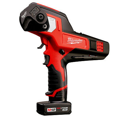 Milwaukee 2472-21XC M12 12-Volt 600 Mcm Cable Cutter w/ Battery