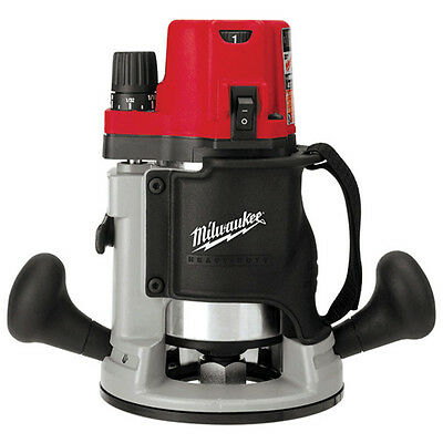 Milwaukee 5616-20 120V AC 2-1/4 Max HP EVS BodyGrip Router w/ Collet Wrenches
