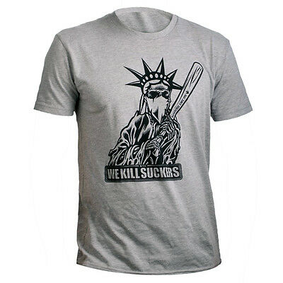 Bunkerkings / BKNR Kings Paintball T-Shirt - Liberty - Grey