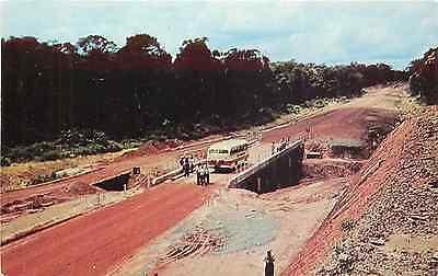 Suriname Affobakka Road Chrome Postcard P/c