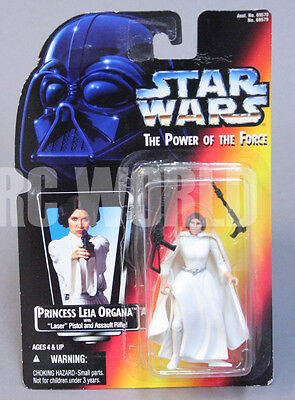 STAR WARS The Power of the Force PRINCESS LEIA ORGANA  Action Figure #1