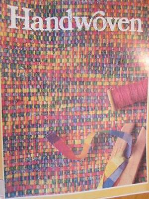 Handwoven March/April 1987 Magazine -Children, Floats, Table Toppers, Dyeing