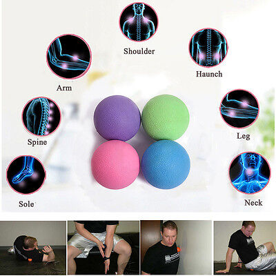 Lacrosse Ball Massage Ball Mobility Myofascial Trigger Point Body Pain Release