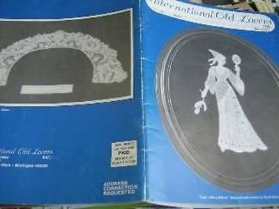 International Old Lacers Winter 1991 Newsletter Volume 11 #2 & Projects Tatting