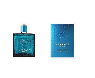 VERSACE  EROS POUR HOMME PERFUMED DEO (DEODORANTE) NATURAL SPRAY - 100 ml