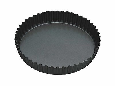 """Master Class Non-Stick Fluted Flan Tin / Quiche Pan with Loose Base, 23 cm (9"""")"""