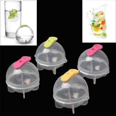 Set Of 4 Ice PODS - creative Balls cube shape Cocktail