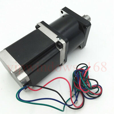 Nema23 Planetary Gear Stepper Motor Ratio 5:1 10:1 20:1 30:1 50:1 Geared Reducer