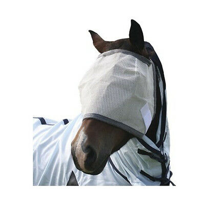 Aerborn Horse Fly Mask Without Ear Protection Pony Cob Horse Full Size S M L XL