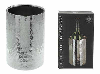 Double Wall Stainless Steel Ice Bucket Wine Cooler Champagne Cooler