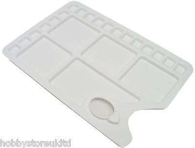 Rectangular Mixing Palette 23 Well Palette Plastic Artist Paint Mixing Palettes