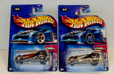 Hot Wheels '04 1st Edt. Hardnoze Grandy Lusion Lot of 2 Free Ship w/ Pro Packing