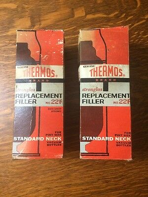 Vintage Genuine Thermos Replacement Filler 20 2F Pint Size Standard Neck