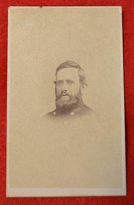 1860's CDV Union Officer from Addis Gallery Wash. D.C. Marvin Photographer!