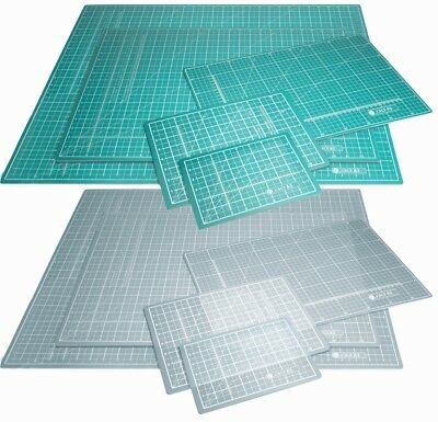 Jakar Green Self Healing Cutting Mat A0 A1 A2 A3 A4 A5 Double Sided cm mm Inch