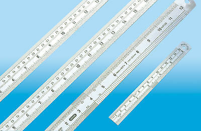 Quality Steel Ruler 15cm 30cm 50cm 60cm 1 Meter In cms And Inches Jakar