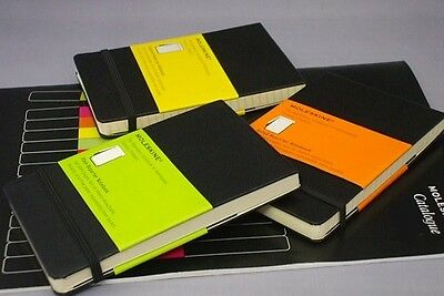 Moleskine Reporters Black Notebooks Ruled Plain Square Note Book Writing Journal
