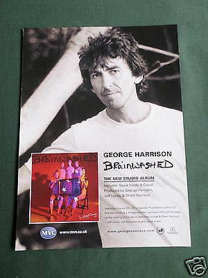 George Harrison - Magazine Clipping / Cutting- 1 Page Advert