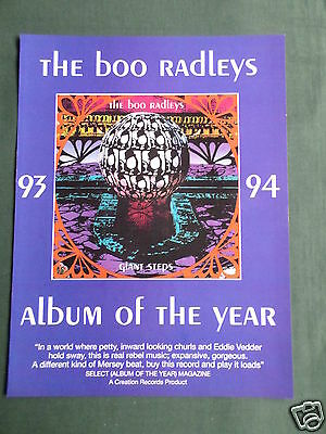 The Boo Radleys - Magazine Clipping / Cutting- 1 Page Advert