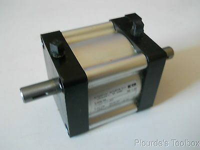 Used Parker Rotary Pneumatic Actuator, 100° Rotation, 135 in/lbs, PV22D-BC2-B