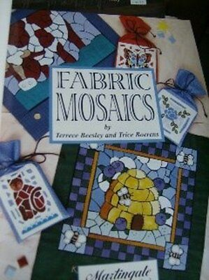 Fabric Mosaics Quilting Book By Beesley & Boerens, Flowers, Animals