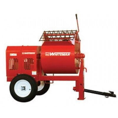 Multiquip's WM90SH8 9 Cu.Ft. 8HP Steel Drum Mortar Mixer + FREE SHIPPING