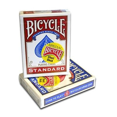 Bicycle Short Special Short Deck Red or Blue Choose One magic Trick Magician New