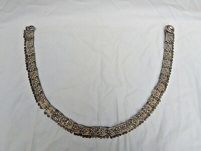 "Rare Russian 84 Silver Antique 27"" Long Belt  Magnificent"
