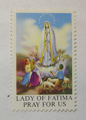 "Cinderella  ""OUR LADY of FATIMA""  (PRAY FOR US) VF  MNH OG"