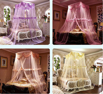 Lace Palace Princess Bedding Mosquito Net Canopy Netting Single Double King
