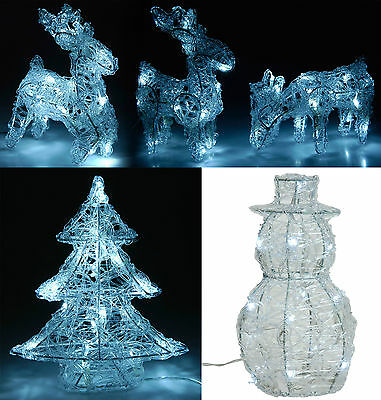 LED Christmas Light Figures Christmas Decoration Snowman Reindeer or Tree