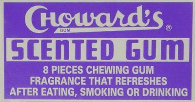 Chowards Scented Gum 24 Count