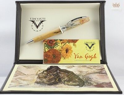 Visconti Van Gogh A Pair Of Shoe With Silver Plated Ball Point Pen Superb Design