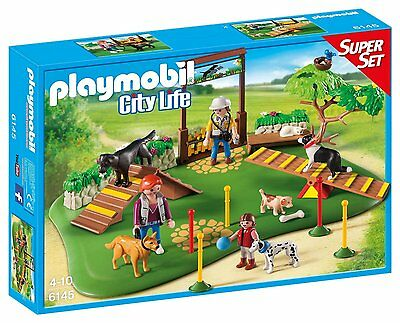 Playmobil 6145 Country Dog Park Super Set