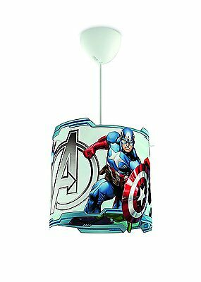 Philips Marvel Avengers Kids Children Bedroom Ceiling Pendant Lamp Light Shade .