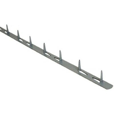 """Furniture Upholstery  24"""" x 1/2""""  Metal Tack Strips 100 pieces Tacktite"""