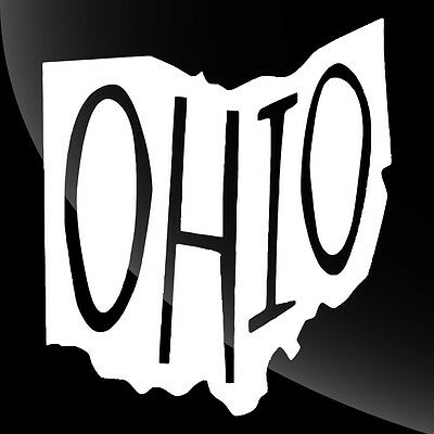 Ohio OH State Pride Decal Sticker - TONS OF OPTIONS